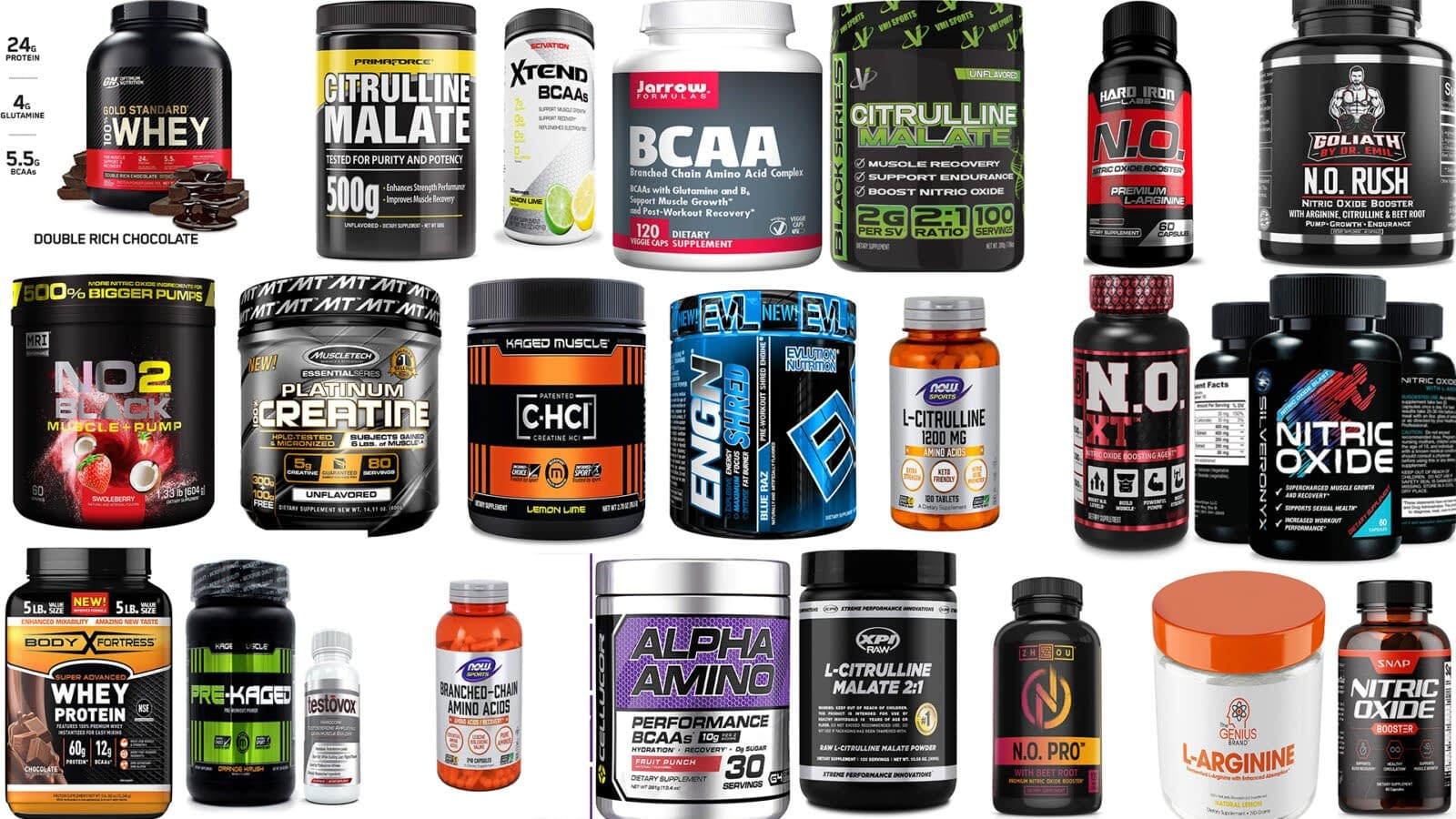 Why choose these 28 muscle building supplements?