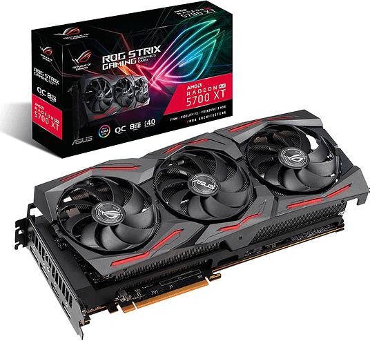 Asus ROG Strix Radeon RX (Best Graphics Card for Fortnite)