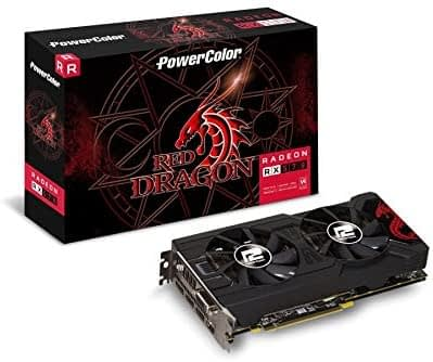 PowerColor Radeon 590 Graphics Card (Best GPU for Fortnite)